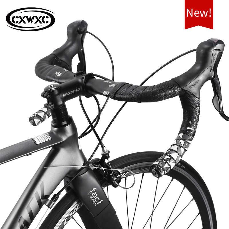 Soft Leather Road Bike Handlebar Belt Bicycle Grip Bar Wrap Ribbon Tape 1 Set