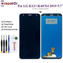 100% Được Thử Nghiệm Cho LG K12   MÀN HÌNH Hiển Thị LCD Bộ Số Hóa Cảm Ứng Cho LG K12 Plus LCD Màn Hình X4 (2019) LMX420/K40 MÀN HÌNH LCD