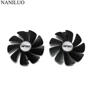 GPU RX 480 RX 470 Cooler NITRO Gear fan for Sapphire RX480 RX470 video Card cooling system as replacement
