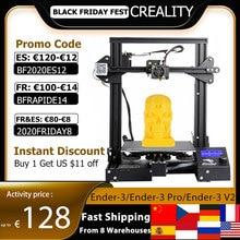 Creality 3D Ender 3/Ender 3 Pro/Ender 3 V2 3D 프린터 DIY 키트 업그레이드 재개 인쇄로 자체 조립 MeanWell 전원 공급 장치