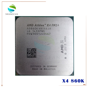 AMD Athlon X4 860K X4 860 X4-860K 3.7 GHz 95W Duad-Core CPU Processor AD860KXBI44JA Socket FM2+