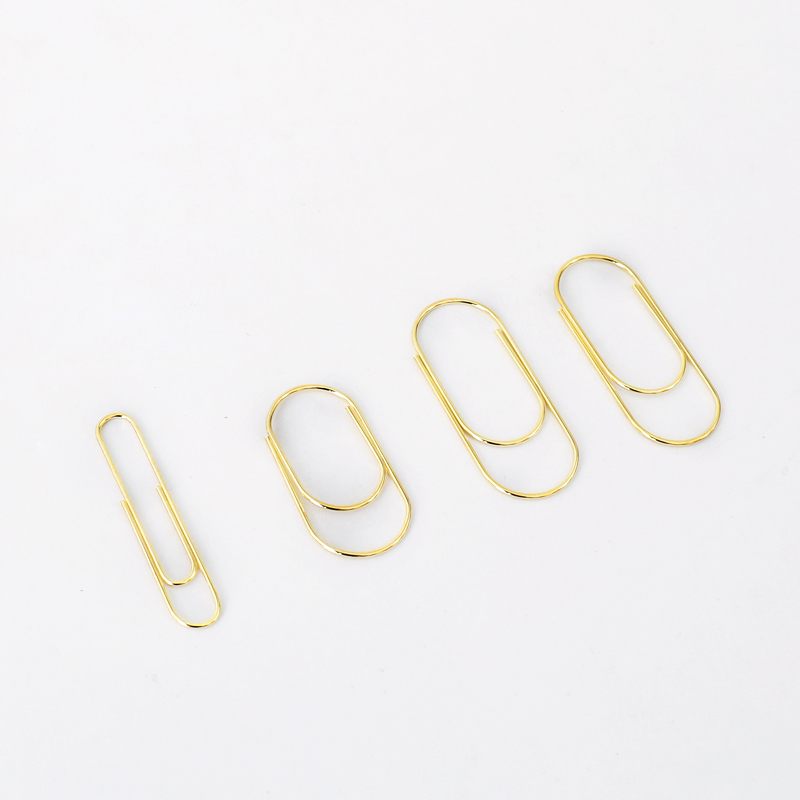 15 Pcs Mini Size Wide Paper Clips 20x40mm Gold Bookmark  Cute Bow Clips Wide Clips In Smaller Size