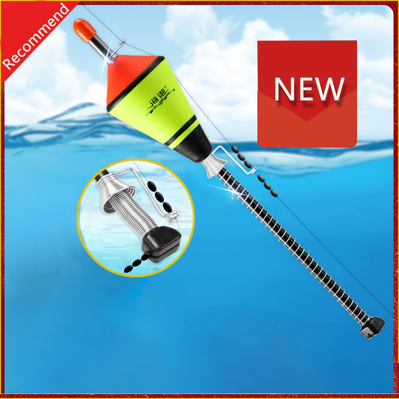 2020 New 1 Pcs Hot Portable Automatic Fishing Float Fishing Accessories Fast Fishing Artifact Fishing Float Device