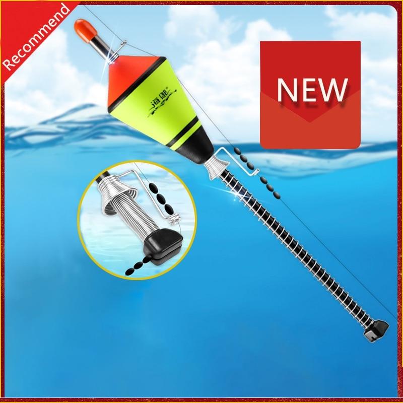 2020 New 1 Pcs Hot Portable Automatic Fishing Float Fishing Accessories Fast Fishing Artifact Fishing Float Device