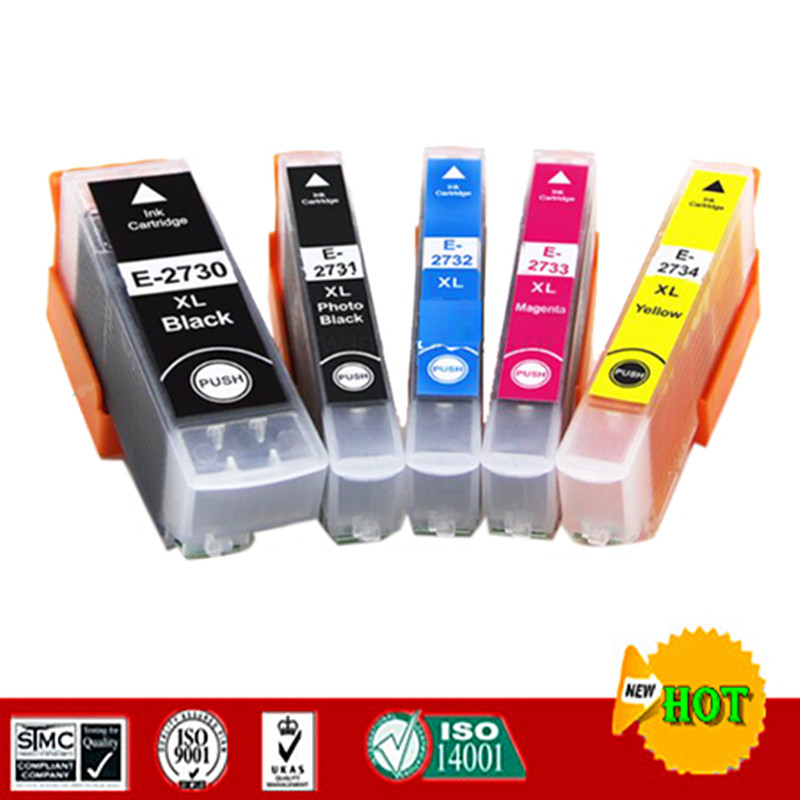 273XL T2730 T2731 Compatible Ink Cartridge For <font><b>Epson</b></font> <font><b>XP</b></font>-510 <font><b>XP</b></font>-520 <font><b>XP</b></font>-600 <font><b>XP</b></font>-<font><b>610</b></font> <font><b>XP</b></font>-620 <font><b>XP</b></font>-700 <font><b>XP</b></font>-710 <font><b>XP</b></font>-720 <font><b>XP</b></font>-810 etc. image