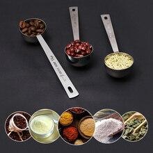 VOGVIGO, 1 шт., ложка из нержавеющей стали для кофе, мерная ложка для молока, фруктовый Баллер, столовая ложка, металлическая ложка с длинной ручкой, аксессуары для кофе