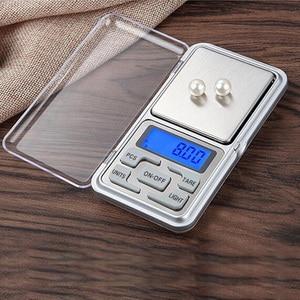 Image 5 - LED Digital Pocket Waagen 100g 200g 500g 0,01/0,1g küche Skala Precision Gramm Gewicht Elektronische balance Labor Skala