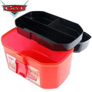 Image 2 - ディズニーピクサーカーズおもちゃ駐車場ポータブルライトニングマックィーン収納ボックス (なし車) ブランドの新株式 · 送料無料