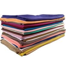 Monochrome pearl chiffon bubble cloth pure color chiffon fabric scarf wholesale factory my hijab