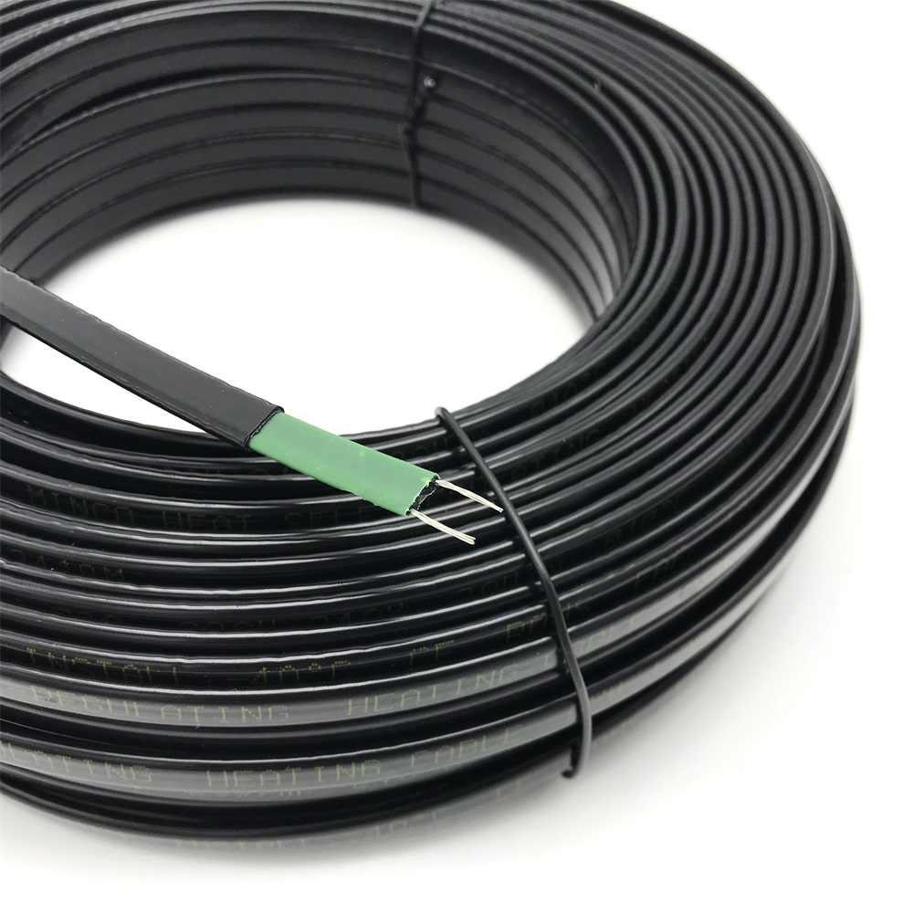 20 W/m, cinta de calentamiento autoregulada de baja temperatura, drenaje de fusión de nieve, tubería de agua, protección contra congelamiento, Cable de calor