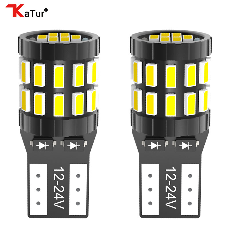 2x T10 W5W <font><b>Led</b></font> Canbus 168 194 Clearance Parking <font><b>Lights</b></font> Bulbs Lamps For Volkswagen VW Polo Passat b5 b6 CC <font><b>Golf</b></font> <font><b>4</b></font> 5 6 7 Jetta image