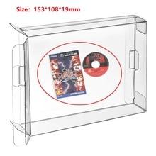 Ruitroliker 20 шт. Прозрачная защитная коробка картридж чехол для NGC однодисковый игры Япония Версия