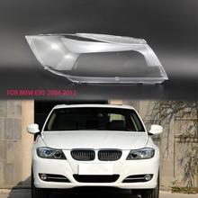 Для BMW E90 2004-2012 Оболочка объектива абажур фара прозрачный объектив корпуса прозрачные стеклянные линзы пластиковый корпус крышка e91