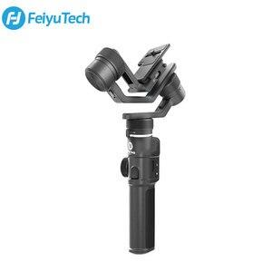 Image 1 - FeiyuTech Feiyu G6 Max 3 Axis Handheld Camera Gimbal Stabilizer for iPhone Samsung GoPro Hero 7 6 5 Mirrorless camera Pocket Cam