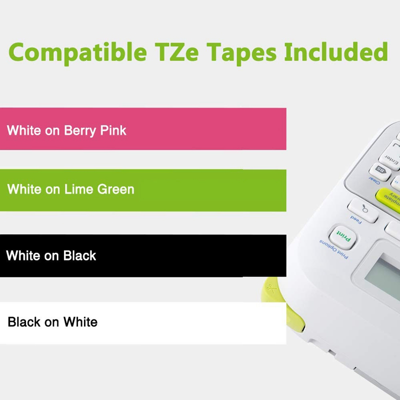 Brother Tze Tapes 12mm Laminated