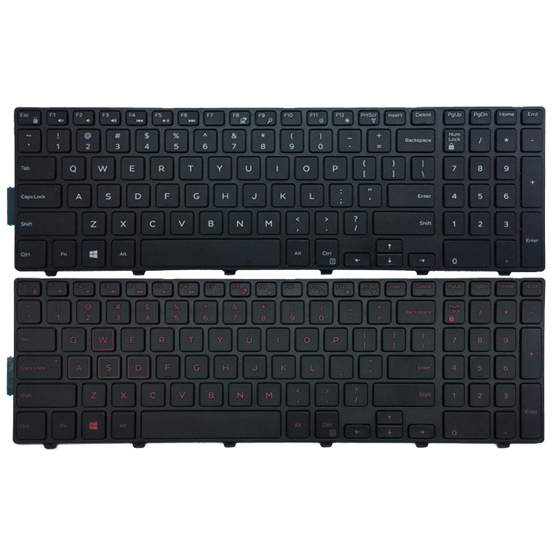 US Keyboard FOR DELL Inspiron 15 3551 3552 3541 3543 3542 3559 3565 3567 3551 3558 5566 5748 5749 5755 5758 5759 laptop keyboard