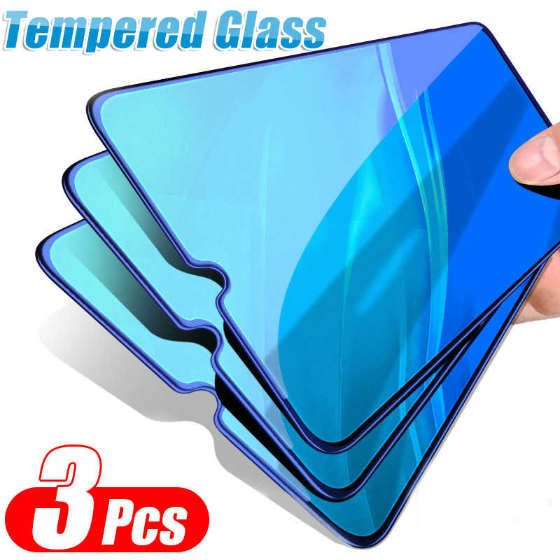 3 Pcs Full Cover Tempered Glass For Xiaomi Mi 9 SE 9T Pro CC9 CC9E Protective Film For Redmi 7A Note 7 K20 Pro Screen Protector