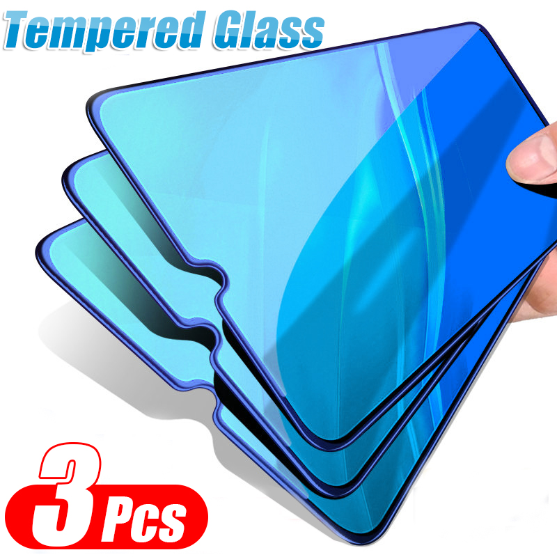 3 Pcs Full Cover Tempered Glass For Xiaomi Mi 9 SE 9T Pro CC9 CC9E Protective Film For Redmi 7A Note 7 K20 Pro Screen Protector(China)