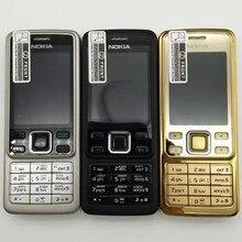 Nokia-teléfono móvil renovado, Original, desbloqueado, 5MP, GSM, compatible con teclado ruso y árabe, Multi-idioma de banda, 6300