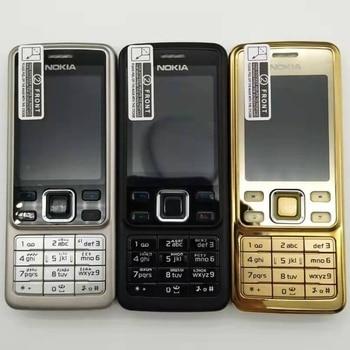 Original Unlocked Nokia 6300 5MP GSM Support Russian&Arabic Keyboard Mobile Phone Tri-Band Multi-language Refurbished - discount item  5% OFF Mobile Phones
