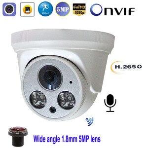 Image 1 - 풀 HD 5MP 1080P WiFi 무선 IP 카메라 P2P Onvif 1.8mm 돔 실내 CCTV 감시 SD/TF 카드 슬롯 CamHi Keye 보안