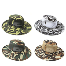 New Outdoor Sports Hat Men Camping Hiking Fishing Hat Man Sun Cap Camouflage Breathable outfly folding sun hat cap cap outdoor foldable quick dry sun fishing fishing hat waterproof men sports duck cap