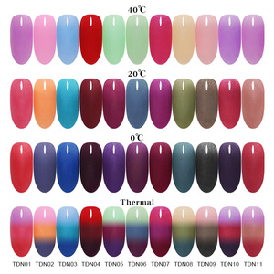 Image 2 - BORN PRETTY 3 IN 1 Thermal Polymer Dipping Nail Powder 10ml Color Changing Acrylic Extension Carving Nails Powder Glitter