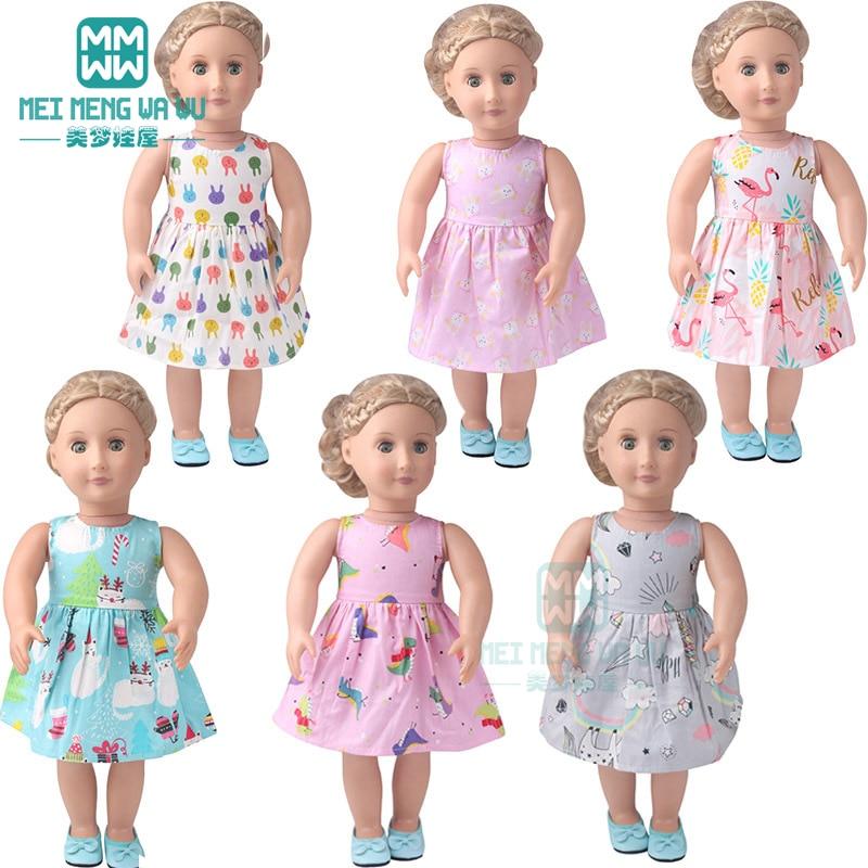 Ubranka dla lalki dla 43 cm noworodki dla lalek różnorodność piżam i szlafroków