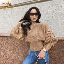 Winter Spring Sweater Women Knitted Fashion Casual Sweaters Female Solid Color Long Sleeve Warm Ladies Pullover Sweater