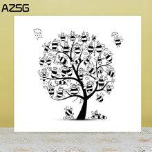 Zhuoang little bee tree прозрачные штампы для скрапбукинга diy/изготовление
