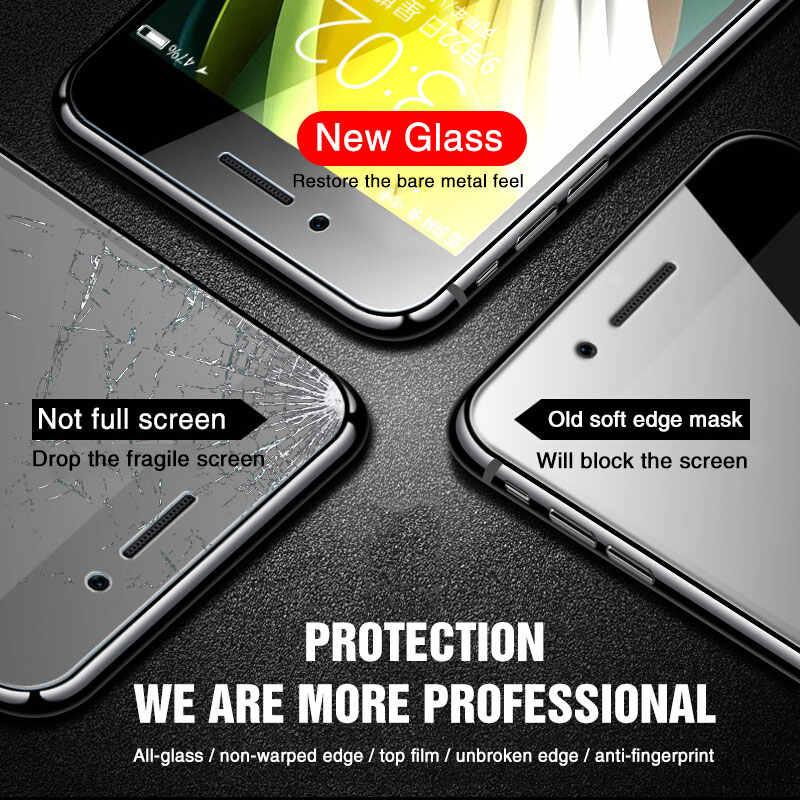 Закаленное стекло с полным покрытием для iPhone SE, 2020, X, XS, Max, XR, для iPhone 7, 8, 6, 6s Plus, 5, 11, Pro, Max, защита экрана
