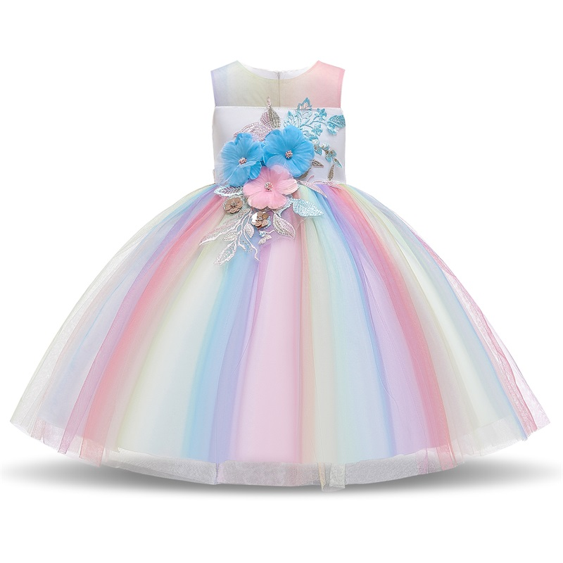 Платье для девочек; элегантное Новогоднее детское праздничное платье принцессы; свадебное платье; Детские платья для девочек; платье для дня рождения; Vestido; одежда - Цвет: Style 11