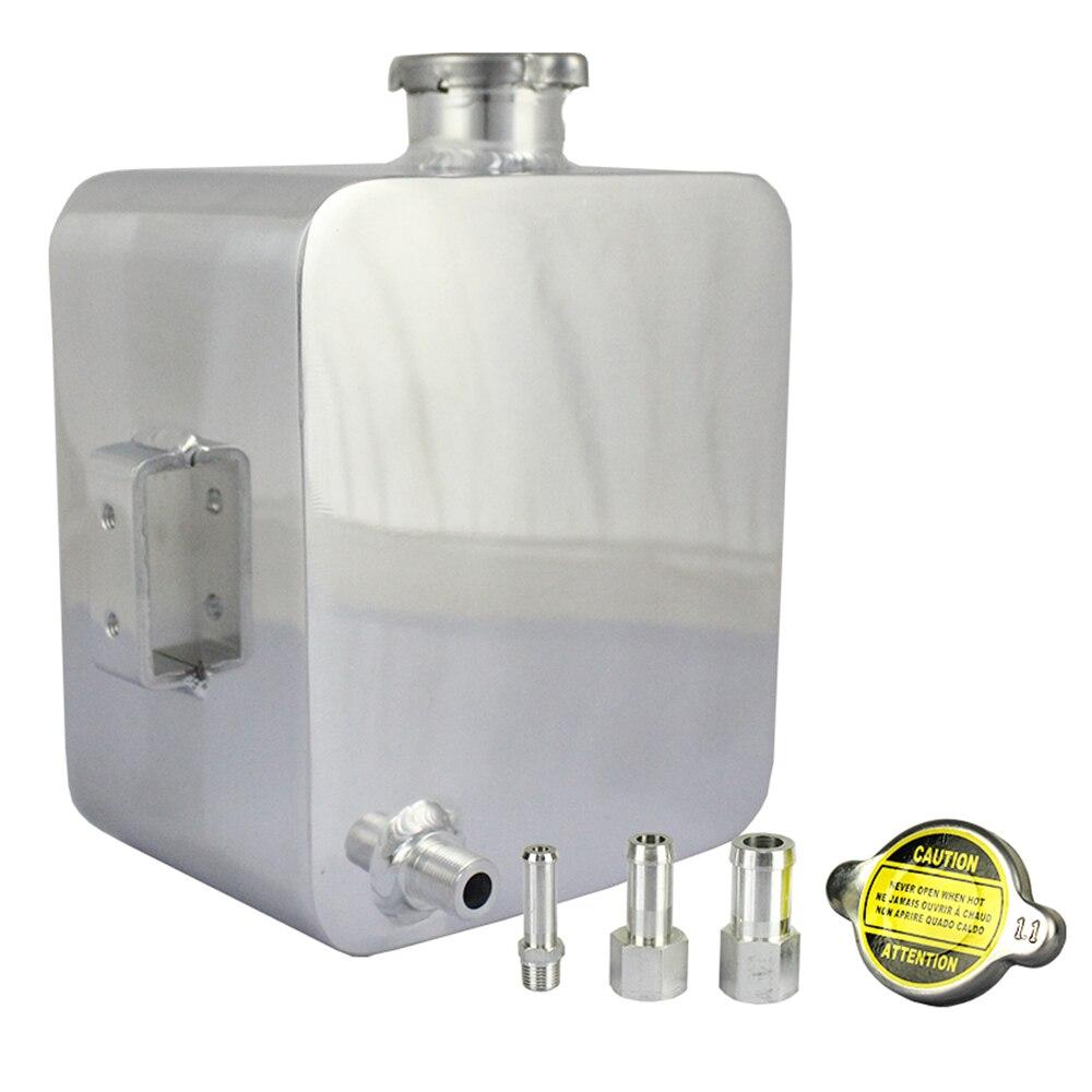 Universel voiture style liquide de refroidissement radiateur trop-plein récupération réservoir d'eau réservoir bouteille pour bmw e46 e90 e60 ford focus 2 volkswagen