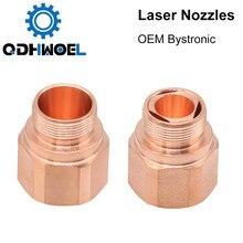 10 x Genuine BYSTRONIC LASER COPPER NOZZLE HK17 3-01913 301913 CO2 Brand New