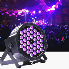 36W UV Purple Stage Lighting LED Beam Projection Lamp Effects Disco Lights Professional