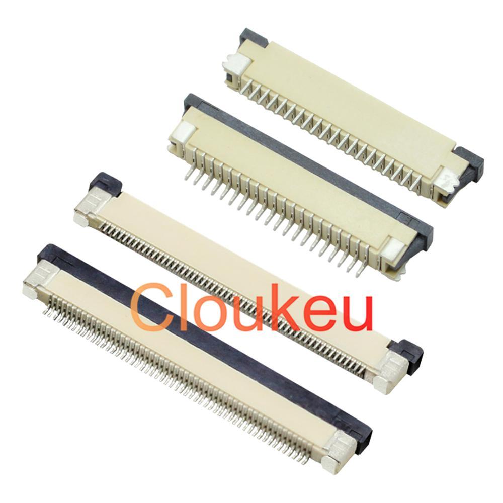 FPC FFC 0,5 мм 1,0 мм разъем типа ящика нижний контакт 32P 33P 34P 36P 40P 45P 50P 60P