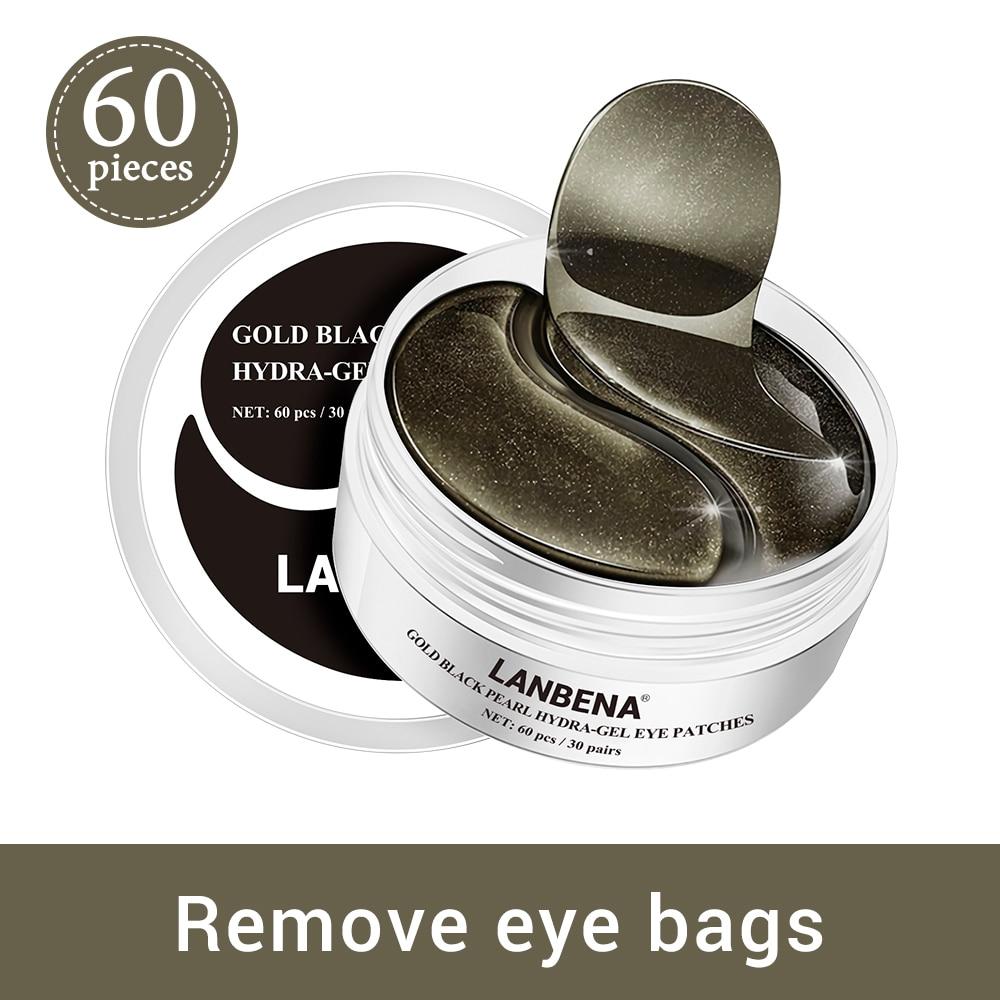 LANBENA Collagen Eye Mask Eye Patch Skin Care Hyaluronic Acid Gel Moisturizing Retinol Anti Aging Remove Dark Circles Eye Bag