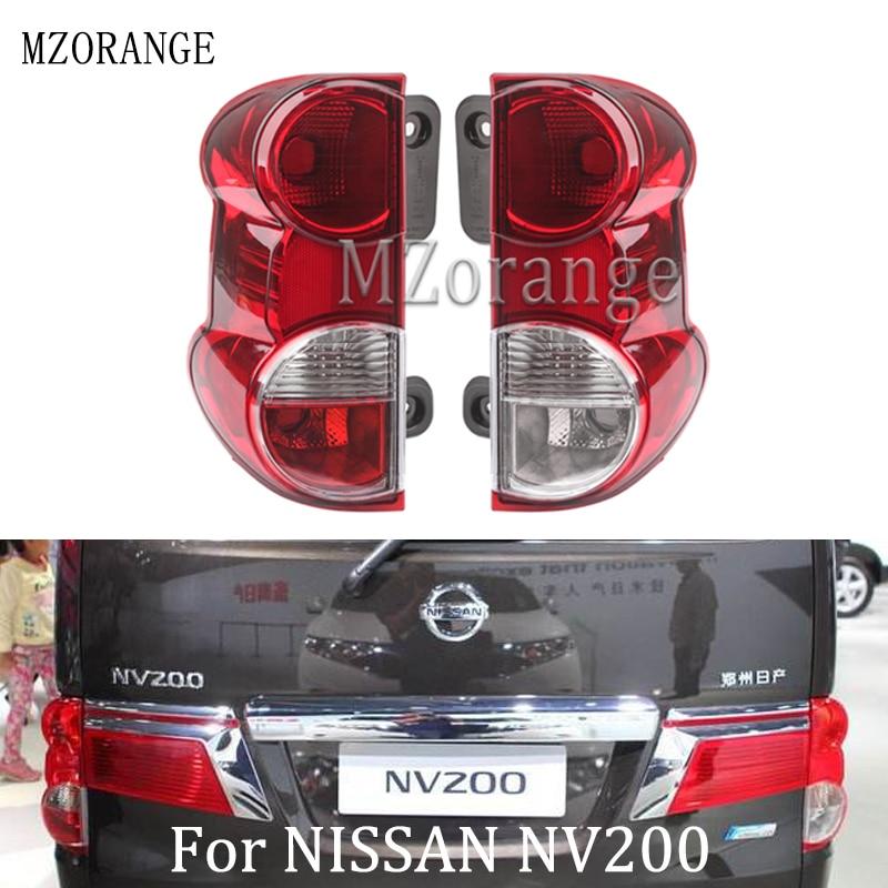 Left//Right Red Car Rear Tail Light Shell Brake Lamp Cover for NISSAN NV200 2009