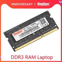 KingSpec ddr3 8GB 4GB 1600mhz DDR3 RAM Memory Memoria Ram For Laptop ddr 3 1600MHz ram ddr3 4gb 8gb For Laptop Notebook RAMs