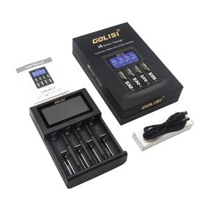 Image 5 - Golisi I4 Smart 18650 26650 20700 Lcdscreen Hiển Thị Sạc USB Sạc Pin Thông Minh Cho Lithium Ion Ni MH Ni Kèm CD
