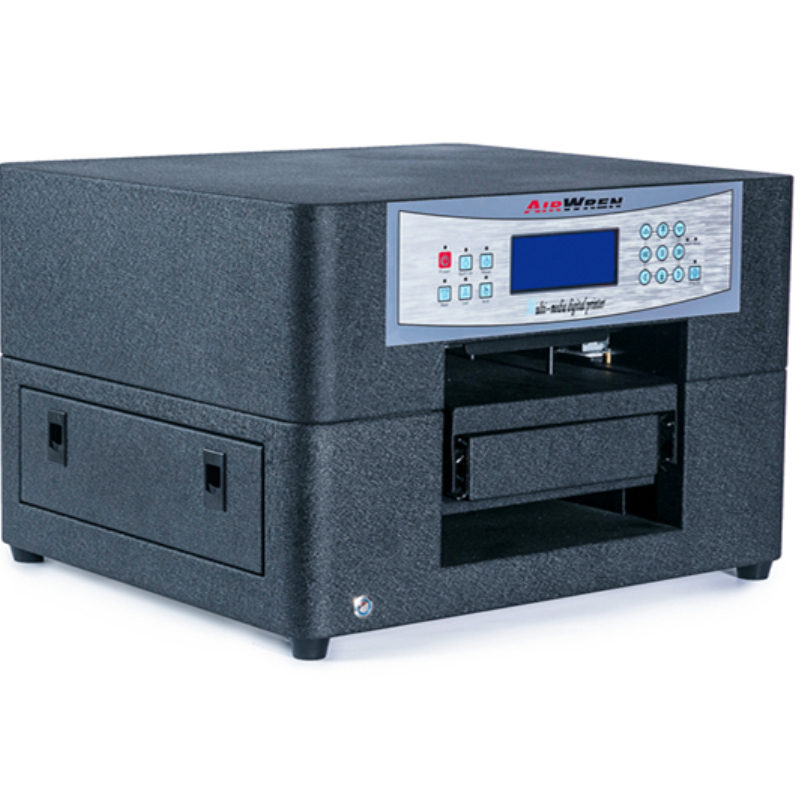A4 Size Goedkope Direct Naar Kledingstuk Printer Voor T shirt Drukmachine Met Textiel Inkt - 4
