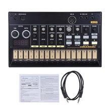 KORG VOLCA klucze przenośny syntezator analogowy syntezator wbudowany opóźnienie efekt pętli sekwencer z MIDI w 3.5mm synchronizacji in/Out Headphon