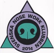 Custom display of woven label patch: svenska nose work klubben svenska akademiens handlingar ifran ar 1796