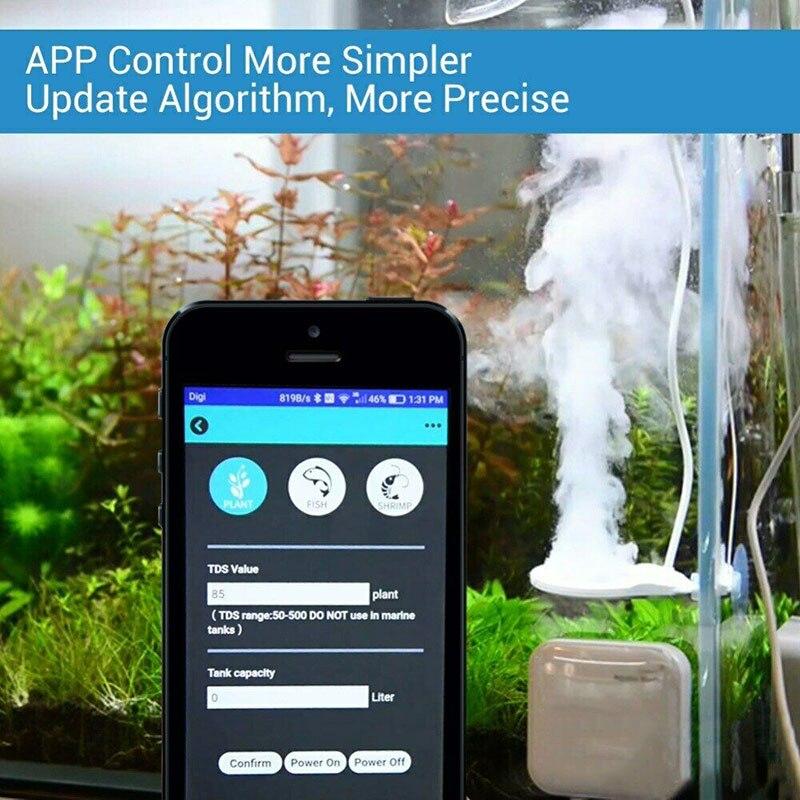 Bluetooth 3 en 1 nettoyant pour algues dissolvant électronique 3rd génération pour Aquarium Aquarium @ LS - 4