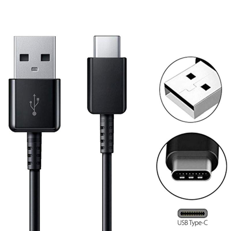 Быстрое Автомобильное настенное зарядное устройство, кабель Type-C, мобильный телефон, кабель для быстрой зарядки и передачи данных для S ~ amsung ...