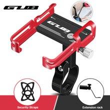 GUB New Aluminum Bike Phone Holder Bicycle Mount Stand Anti Slip Motorcycle Handlebar Clip for 3.5 to 7.5