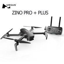 Hubsan Zino PRO + Plus GPS 5G WiFi 8KM FPV con 4K 30fps UHD de la Cámara de 3 ejes cardán 43 minutos tiempo de vuelo RC Drone Quadcopter
