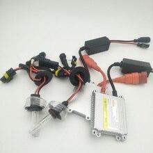 цена на 1 set 55w H7 h4 9005 Xenon HID Kit Car Xenon Bulb Lamp 4300K 6000K 8000K 10000k 120000k Digital Ballast for Car Headlight DC 12V