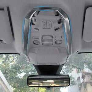 Нержавеющая сталь, автомобильная Передняя Задняя лампа для чтения, декоративная накладка на раму для Peugeot 3008 3008GT 2017 2018 2019 аксессуары