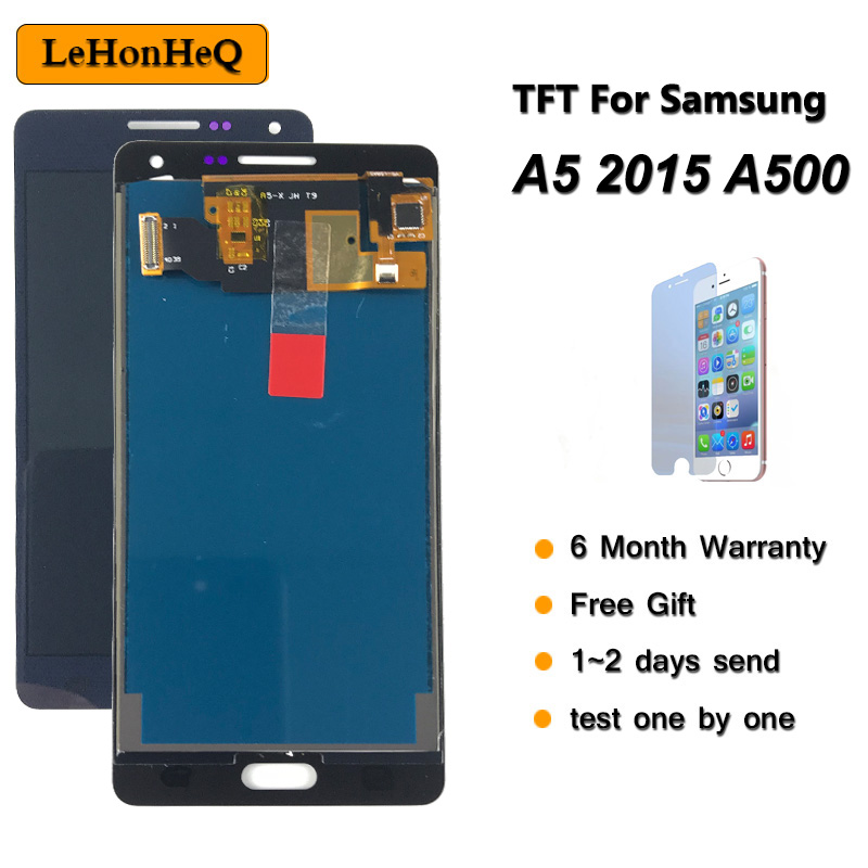 Can adjust TFT <font><b>LCD</b></font> For <font><b>Samsung</b></font> <font><b>Galaxy</b></font> <font><b>A5</b></font> 2015 <font><b>A500</b></font> A500F <font><b>LCD</b></font> Display Touch <font><b>Screen</b></font> Digitizer Assembly For <font><b>samsung</b></font> <font><b>A500</b></font> Display image